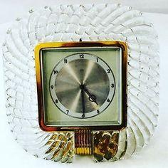 Antica Cornice Vetro Murano Con Orologio BAROVIER-TOSO  Cornice ANNI '40 Firmata | eBay
