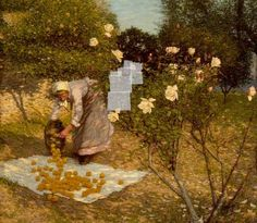 Your Paintings - Henry Herbert La Thangue paintings