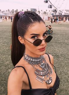 trendy look for coachella festival