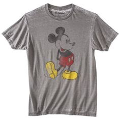 Target is another great place to look for Disney shirts for the whole family! This classic Mickey pose is a mainstay!