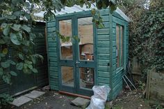 #Shed - finished and in use  Like,Repin,Share,Thanks