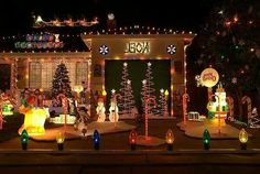 Over the Top Outside Christmas Decorations!  Lol!    ~    (Christmas Joy, FB Page)