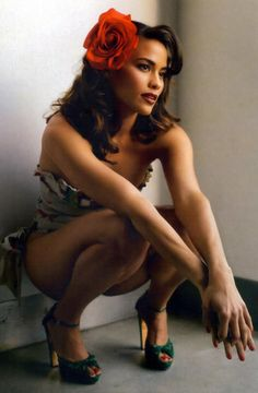 Paula Patton... She just radiates... Beauty, Class, Style and Sex Appeal! You've gotta love her!