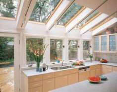 Velux products are perfect for the Gold Coast, Brisbane and Tweed Coast. Visit our showroom to see how great a Velux skylight or roof window would be for you. Luz Natural, Natural Light, Skylight Shade, Skylight Design, Roof Window, Roof Architecture, Double Glazed Window, Luxury Kitchens, Dream Kitchens