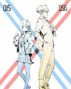 Ichigo x Goro Darling in the Franxx fanart Humour Geek, Manga Anime, Anime Art, Otaku, The Ancient Magus, Zero Two, Fanart, Couple Cartoon, Darling In The Franxx