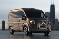 Citroën Typ H 70th Anniversary Van: Designer David Obendorfer's neue Hommage