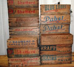 Wooden Cheese Box obsession!