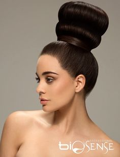 Sleek Hairstyles, Professional Hairstyles, Donut Bun, Classy Updo, Sleek Updo, Big Bun, Hair Photography, Big Hair, Top Knot