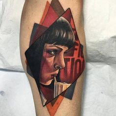 Pulp Fiction inspired tattoo