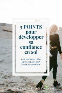 5 points pour développer sa confiance en soi – Julieta Velnessa, bien être et developpement personnel