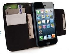 Apple iPhone 4/4s  Wallet Case Black #alternativewire