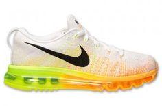 1c1cf5036942 Cheap Nike Flyknit Air Max Mens Running Shoes White Black Sale