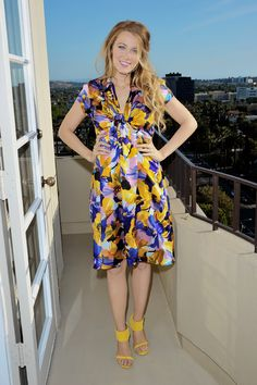 Blake Lively at the 'Age Of Adaline' Press Conference
