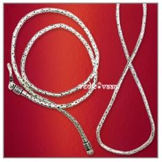 Snake silver chain–thin–Design III