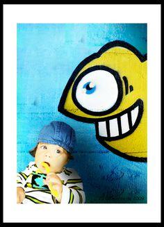poster personalizado con fotos de niños, borrado de fondos
