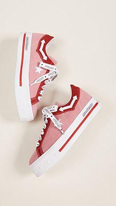 2642e1a854a Converse x MadeMe One Star lift platform sneakers Platform Converse