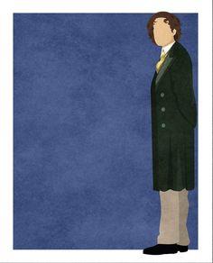 Doctor Who minimalist: Paul McGann #DoctorWho #PaulMcGann #Whovian #SciFi #SmallScreen #TV #art