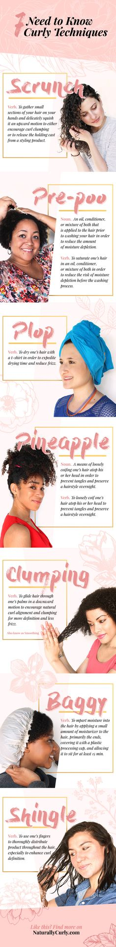 The curly hair techniques you must know to achieve gorgeous curls.