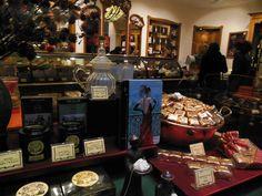 Jammie etalages vol Belgische chocolade