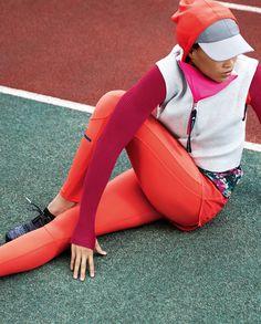 #Adidas  #StellaMcCartney  Adidas by Stella McCartney Spring 2017 Ready-to-Wear Collection Photos - Vogue
