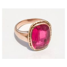 Ruby Ring, European Gold 585, 14K Gold, Edwardian Vintage Jewelry ($922) ❤ liked on Polyvore featuring jewelry, rings, vintage rings, 14k ruby ring, 14k yellow gold ring, edwardian rings and yellow gold rings