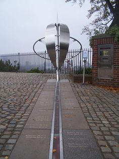"Meridian line at Greenwich is the Prime meridian of the world, Longitude 0 deg 0' 0"" which defines GMT."