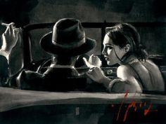 Fabian Perez paintings {Part 3}
