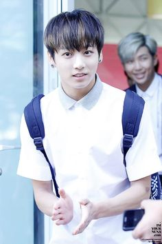 My bias, Jeon Jungkook 전정국 was born September 1, 1997 making him the maknae 막내