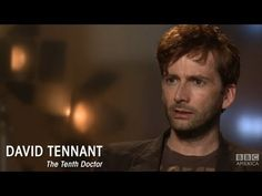 David Tennant - perfectly expresses the impossibility of trying to explain Doctor Who - can't explain it, just watch it!