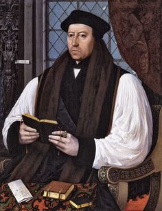 """Thomas Cranmer,who was the sole supporter of Anne in the council.The ermine mantle was removed and Anne lifted off her headdress, tucking her hair under a coif.After a brief farewell to her weeping ladies and a request for prayers,she kneeled down and one of her ladies tied a blindfold over her eyes.She knelt upright,in the French style of executions.Her final prayer consisted of her repeating continually,""""Jesu receive my soul;O Lord God have pity on my soul."""" The execution consisted of"""