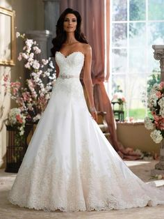 Droom je er nog steeds van om te schitteren als prinses op je eigen bruiloft. Wij helpen jou graag bij het vinden van je droomjurk!