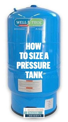 The 5 Best Well Pressure Tanks and How to Size Them Well Water System, Water Pump System, Small Cabin Plans, Cabin Floor Plans, Pex Plumbing, Bathroom Plumbing, Bathroom Fixtures, Well Water Pressure Tank, Well Pump Repair