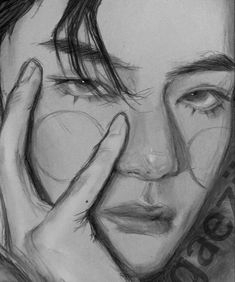 Mini Drawings, Bts Drawings, Drawing Sketches, Drawing Tips, Male Face Drawing, Angelababy, Cute Anime Guys, Bts Pictures, Namjoon