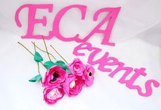 ECA events wedding paper flowers weddings bride groom reception decor