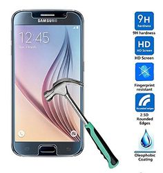 Samsung Galaxy 6 Screen Protector - Clear Premium Tempered Glass Screen Protector for Samsung 6 - High Definition (HD) Touchscreen With Superior Clarity - Protect Your Samsung 6 And Its Value Case Tech http://www.amazon.com/dp/B00XRWBPHU/ref=cm_sw_r_pi_dp_gwyLvb1XBMRHW