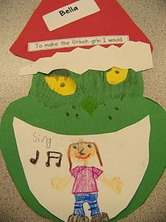 grinch grin, christma school, seuss activ, grinch unit, decemb, spanish christma