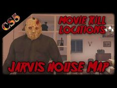 Friday the part 4 movie kill locations on the new Jarvis Map in Friday the the game. FRIDAY THE and all related characters and elements are tr. Jason Friday, Friday The 13th, Part 4 Jason, Finals, Map, Youtube, Movies, Character, Films