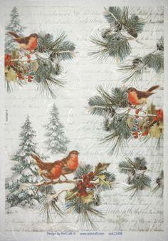 Christmas Scenes, Christmas Images, Christmas Tag, Winter Christmas, Vintage Christmas, Christmas Ornaments, Christmas Scrapbook Paper, Rice Paper Decoupage, Decoupage Vintage