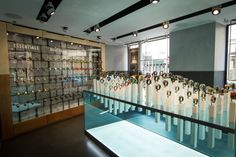 Nixon store by Checkland Kindleysides, Paris France watches