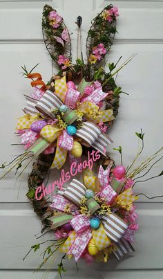 Check out this item in my Etsy shop https://www.etsy.com/listing/504798100/easter-wreathbunny-wreathrabbit
