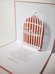 birdcage style wedding invitations - Google Search