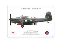 Fleet Air Arm Fairey Barracuda MK5