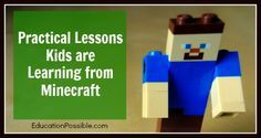 Practical Lessons Kids are Learning from Minecraft