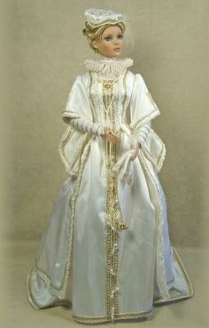 Enchanted Serenity of Period Films: Crawford Manor - Custom made Dolls ~ Anne of Austria