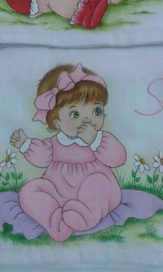 #pinturasobretela Children Sketch, Art Drawings For Kids, Painting For Kids, Fabric Painting, Christmas Art, Baby Pictures, Baby Quilts, Quilt Patterns, Coloring Books