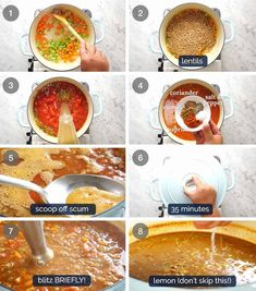 Don't settle for a bland Lentil Soup. Just a few little tips make all the difference, and you'll have everyone begging for seconds . and thirds! Panera Tomato Soup Recipe, Lentil Soup Recipes, Tomato Soup Recipes, Vegetarian Protein Sources, Vegetarian Recipes, Cooking Recipes, Healthy Recipes, Soft Flatbread Recipe, Dried Lentils