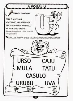 Muitas atividades lindas para Educação Infantil, maternal para imprimir! - ESPAÇO EDUCAR