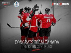 Undefeated in the tournament, Team Canada Reigns Over Hockey as the World Champions. Hockey World Cup, Reign, Champion, Darth Vader, Canada, Instagram Posts, Sports, Fictional Characters, Hs Sports