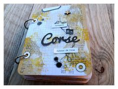 "DIGITAL SCRAP : Scrapbooking - Mini Album ""Corse"" Oct-Nov2013"