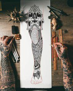 Search inspiration for a Geometric tattoo. Geometric Sleeve Tattoo, Leg Sleeve Tattoo, Leg Tattoo Men, Maori Tattoo Designs, Japanese Tattoo Designs, Tattoo Sleeve Designs, Neck Tattoo For Guys, Tattoos For Guys, Tattoo Pierna Hombre